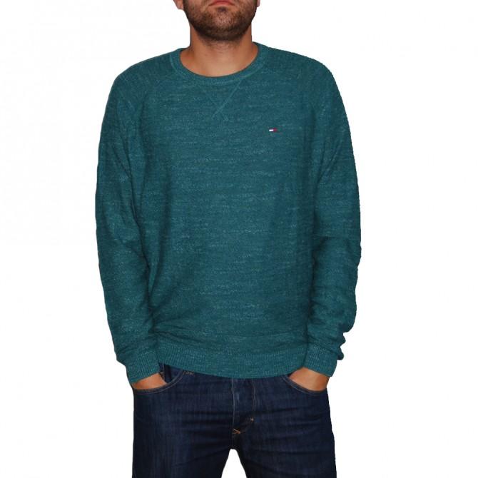 Pulover Tommy Denim Basic green