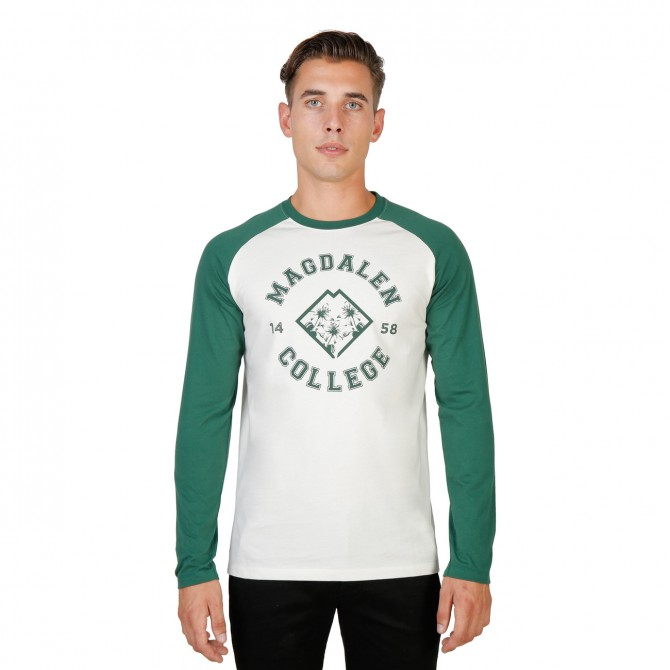 Tricou barbati Oxford University model MAGDALEN-RAGLAN-ML