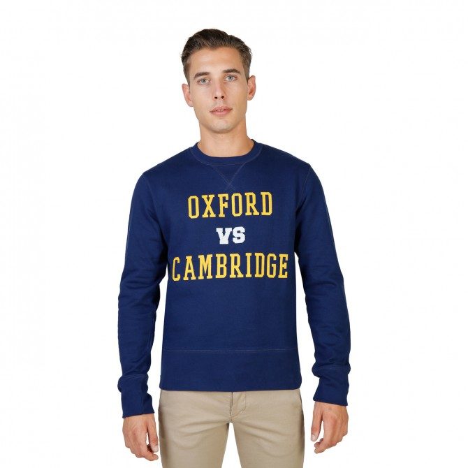 Hanorac barbati Oxford University model OXFORD-FLEECE-CREWNECK