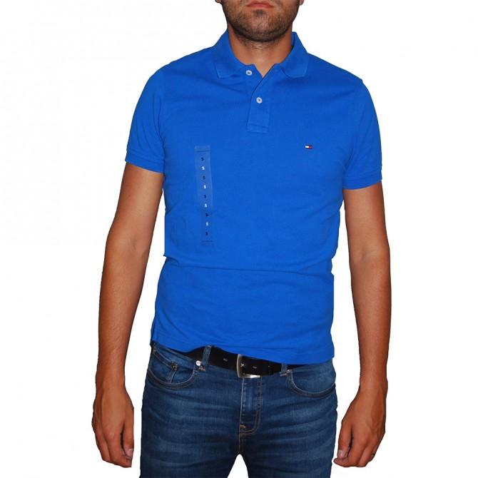 Tricou Tommy Hilfiger Nautical Blue Slim Fit