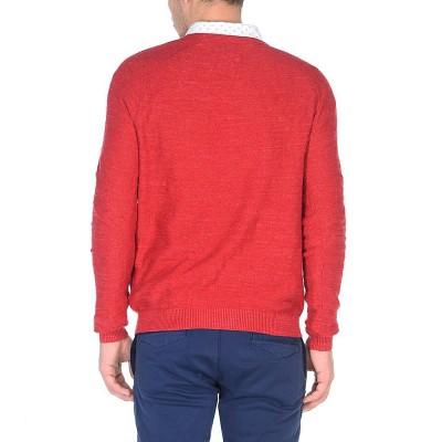 Pulover Tommy Denim Basic red