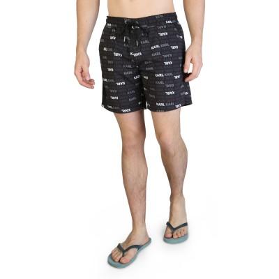 Pantaloni scurti de baie barbati Karl Lagerfeld model KL21MBM06