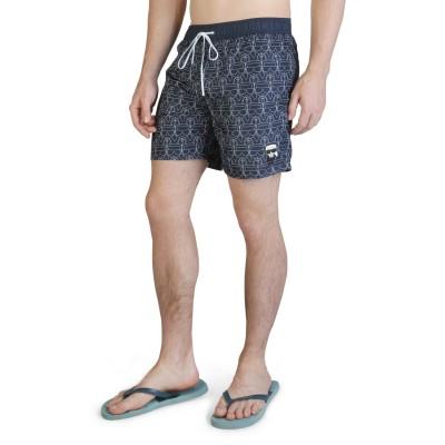 Pantaloni scurti de baie barbati Karl Lagerfeld model KL21MBM12