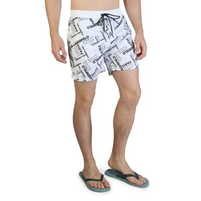 Pantaloni scurti de baie barbati Karl Lagerfeld model KL21MBM14