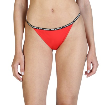 Costum de baie, slip femei Karl Lagerfeld model KL21WBT01