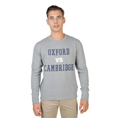 Hanorac barbati Oxford University model OXFORD-FLEECE-CREWNECK