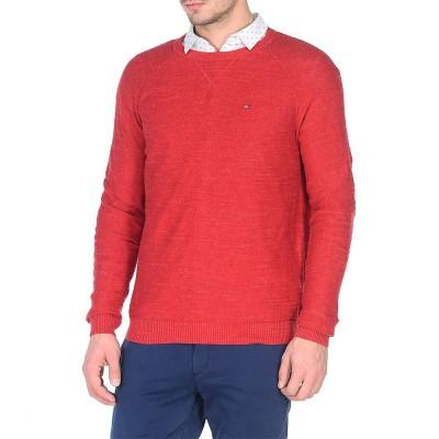 Pulover Tommy Denim Basic red
