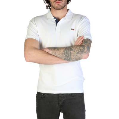 Tricou polo barbati Napapijri model TALY-STRETCH_N0YIJI