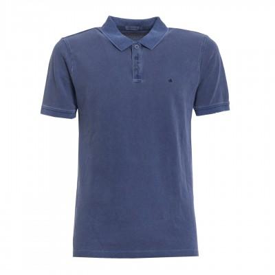 Tricou polo Calvin Klein Jeans Pedro 3 Twilight Blue